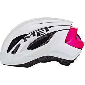 MET Strale Casco, white/pink